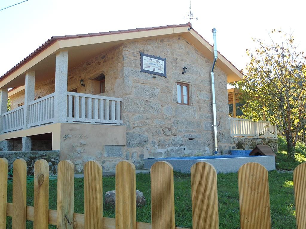 Fotografía exterior de la casa